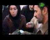 دیدار مردم ایلام با احمدی نژاد