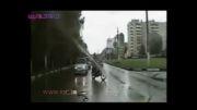 تصادف مرگبار موتورسوار