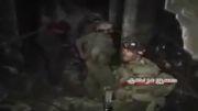 درگیری شدید ارتش سوریه با تروریست ها در حومه دمشق