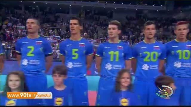 حواشی فینال والیبال قهرمانی اروپا: فرانسه ۳-۰ اسلوونی