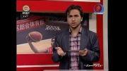 خانم بازیگر سینمای ایران گزارشگر شد