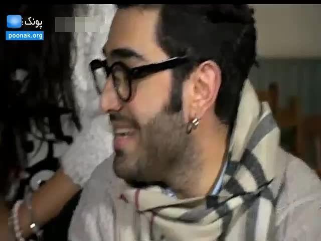 توهین امیرحسین آکادمی گوگوش به مقامات ایران