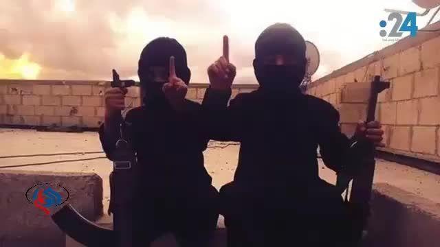 تربیت کودکان وحشی توسط داعش
