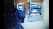 سرقت از عابربانک در60 ثانیه!!