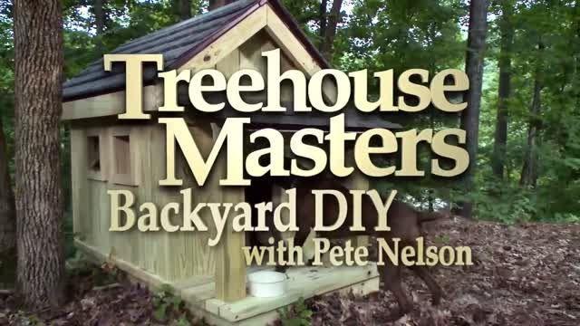 نحوه ساخت خانه چوبی برای سگ
