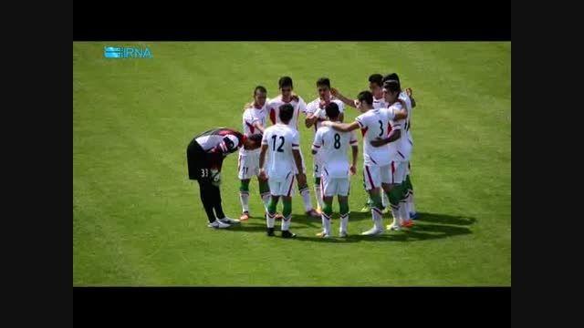 دیدار دوستانه تیم ملی فوتبال جوانان ایران و ایتالیا