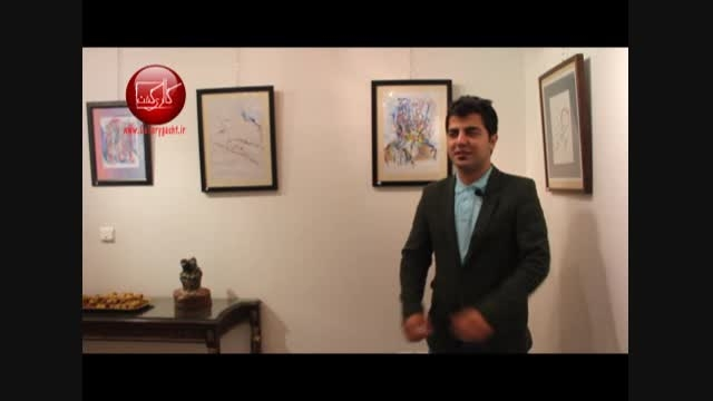 گزارش گالری گشت از آثار رئوف فلاح در گالری نقش جهان