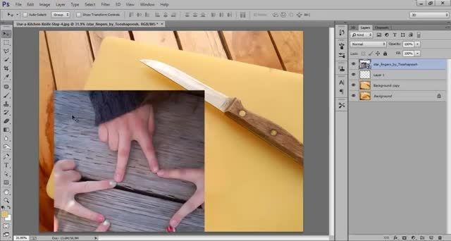 ترکیب تصاویر برای ساخت تصاویر خارق العاده در فتوشاپ
