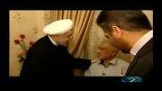 فیلم منتشر شده از شب نشینی حسن روحانی در...!!
