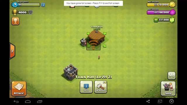 دانلود آموزش هک بازی clash of clans