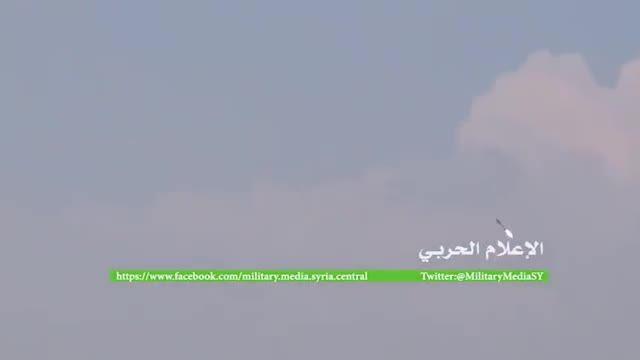 حمله موشکی ارتش سوریه به النصره در شهرک خان الشیخ