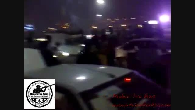 رقص آذری جوانان در چهارشنبه سوری که مورد حمله قرار گرفت