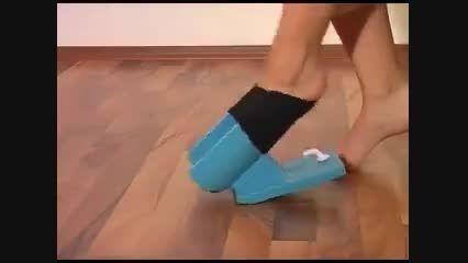 دستگاه جوراب پا کن!!!!!