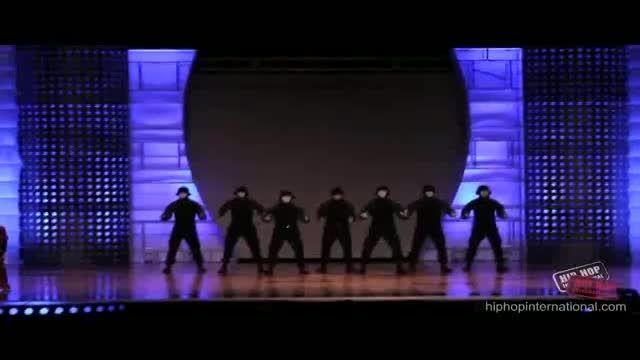 رقص هیپ هاپ خیره کننده
