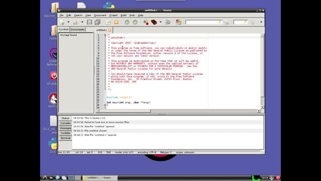 Learn C Programming on Raspberry Pi - 03 - Hello World