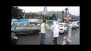 توزیع 10 هزار بسته فرهنگی/استقبال فرمانده سپاه و فرماندار