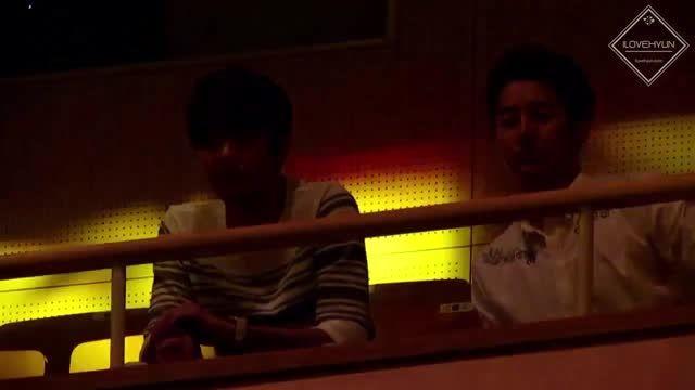 هیونگ جون و کیو جونگ در فن میتینگ یونگسنگ