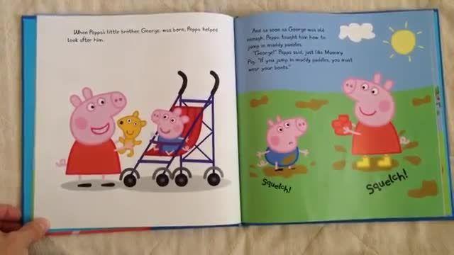 دانلود کتاب داستان انگلیسی THE STORY OF PEPPA PIG