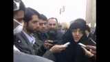 تجمع جنبش عدالت خواه دانشجویی در مقابل مجلس پیرامون قانون اصلاح انتخابات