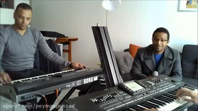 """اجرای ترانه """"سلمتک بیدالله"""" توسط رشید نوازنده تونسی"""