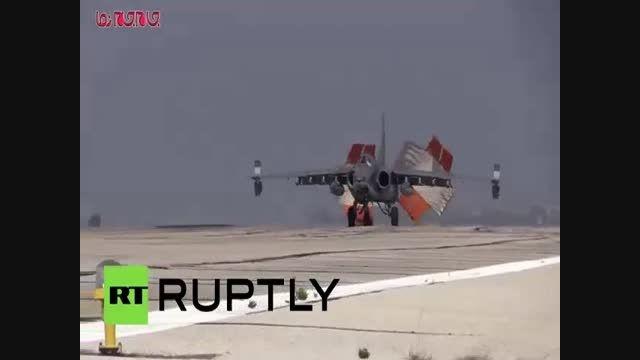 حملات جنگنده  روسی علیه داعش در سوریه فیلم گلچین صفاسا