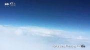نمای از 30 کیلومتری زمین توسط گوشی LG G2