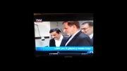 عیادت دکتر احمدی نژاد از رهبر انقلاب