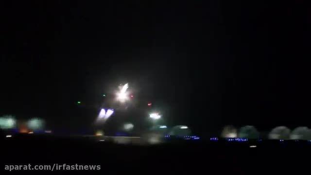 حمله 10 جنگنده فرانسه به مواضع داعش در سوریه