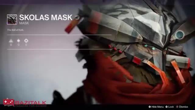 ماسک های جدید Destiny به مناسبت هالووین