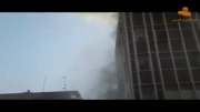 سقوط یک زن از ساختمان پنج طبقه!!!!!!!