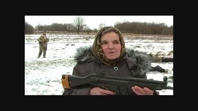 جنگاورترین مادربزرگ دنیا ...!