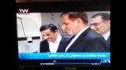 عیادت دکتر احمدی نژاد از رهبر معظم انقلاب