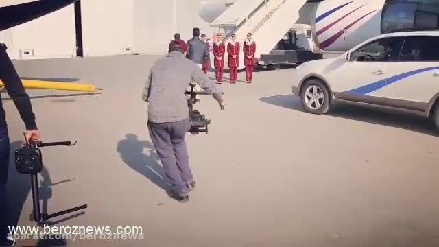پشت صحنه فیلم زندگی بابک زنجانی