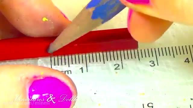 آموزش درست کردن مداد برای باربی
