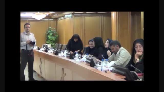 نشست خبری رئیس شورای شهر تهران با خبرنگاران