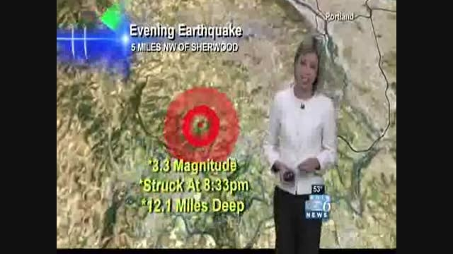 گزارش زلزله توسط سازمان زمین شناسی امریکا (USGS)