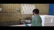 حفاظ پرشین دژ - کارگاه رنگ آمیزی حفاظ ها 2