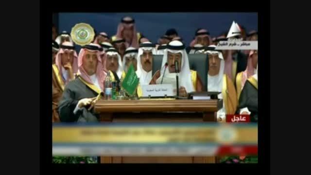 حرکات تمسخرآمیز وزیرامور خارجه عربستان سعودی