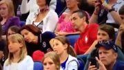 واکنش عجیب والدین یک ورزشکار