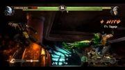 Scorpion-Noob Vs Cyber SubZero-Kabal_ MK9 Fight