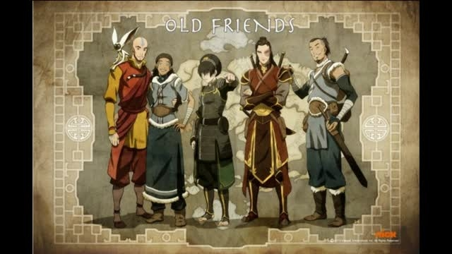 تیم آواتاری قدیم در بزرگ سالی-دوستان قدیم