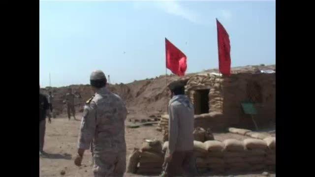 حاج عباس عبدالهی مناطق جنگی جنوب کشور