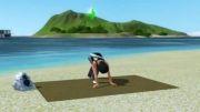 سیمز3 - حرکات یوگا