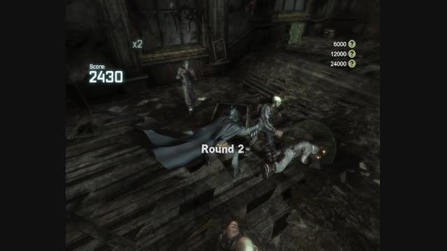 مبارزه کردن من در بازی بتمن