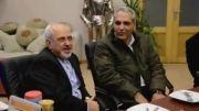 دیدار مهران مدیری و محمد جواد ظریف