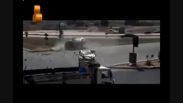 تصاویر ضبط شده از تصادفات جاده ای ایران - 1