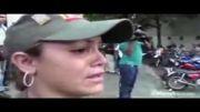 لحظه اعلام خبر مرگ چاوز