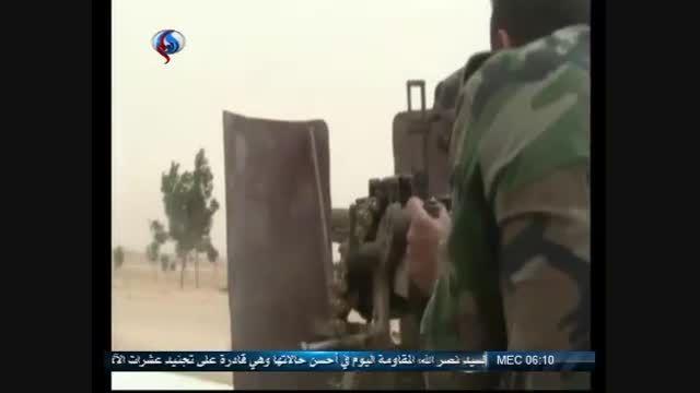 قطع مسیر تدارکاتی داعش در حسکه + فیلم