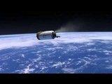تصویر برداری هنرمندانه از فضا پیمای SpaceX