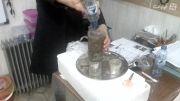 آزمایش علوم سوم تصفیه آب کثیف در خاک